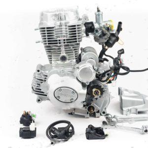 Двигатель 250сс 167FMM CG250-B 67×65 грм штанга, балансир, 5ск Мотоциклы комплект