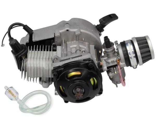 Двигатель 50сс 2т для минибайка в сборе